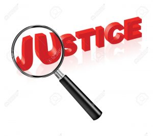 justice magnifying glass