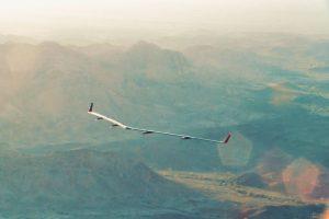 Aquila drone in flight. Source: Facebook